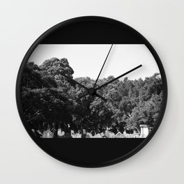 From the earth to the sky Wall Clock