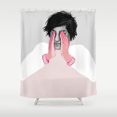 A Touch of Pink 02 Shower Curtain