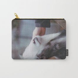 Goat snuggles Carry-All Pouch