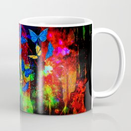 butterfly forest Coffee Mug