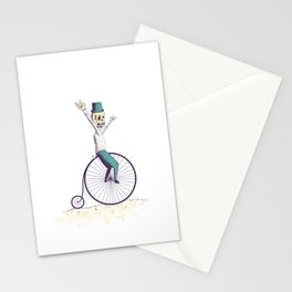 Let's ride Penny-farthing Stationery Cards
