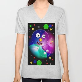 Good mood, colored balls. Unisex V-Neck