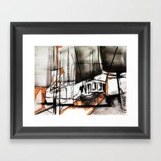 The Trawlers Framed Art Print