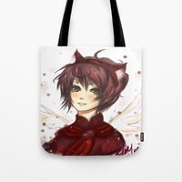 prince Tote Bags featuring Prince by MilkNCreams