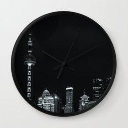Shanghai Bund Wall Clock