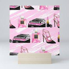 Perfume & Shoes Mini Art Print