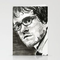 will graham Stationery Cards featuring Will Graham by Pruoviare