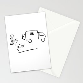 package messenger cure post package service Stationery Cards