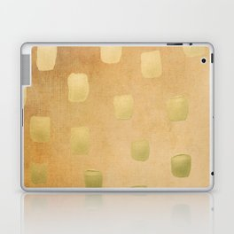 Golden Splotch Haze Laptop & iPad Skin