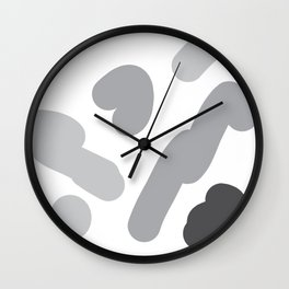 round pattern Wall Clock