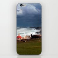 puerto rico iPhone & iPod Skins featuring San Juan, Puerto Rico by Eleanor Kipping