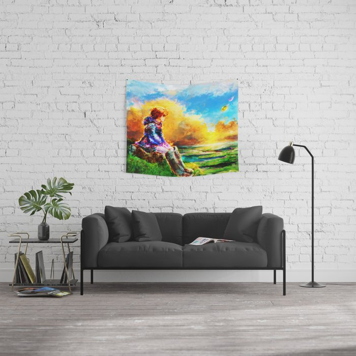 Nausicaa of the Valley of the Wind Wall Tapestry