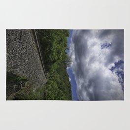 West Virginia Railroad Rug