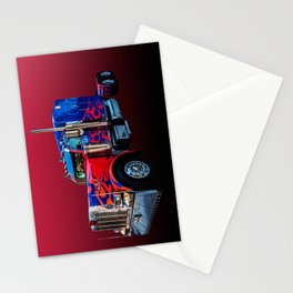 American Truck Red Stationery Cards