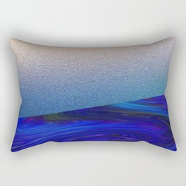 Sapphire and Steel Impressions Rectangular Pillow