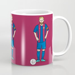 Lionel Messi - Red Coffee Mug