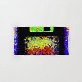 Corrupted Floppy Disk Files Hand & Bath Towel