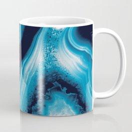 Blue Agate #3 (Part 2) #gem #decor #art #society6 Coffee Mug