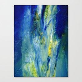 Blu tree Canvas Print
