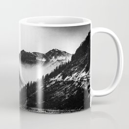 Mountain Valley Glacier National Park Coffee Mug
