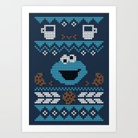 C is for Cookie! Art Print