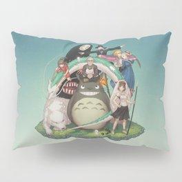 Ghibli: Bliss in Light Pillow Sham