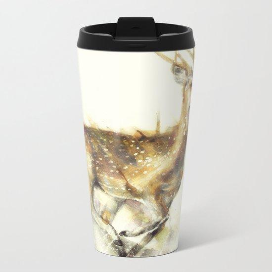 Run Away Metal Travel Mug