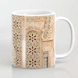 Door of Hassan II Mosque in Casablanca Morocco Coffee Mug