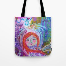 be like water - mermaid and a ship Tote Bag