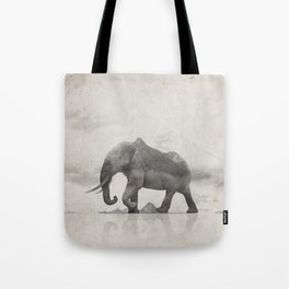 Rocky Elephant Tote Bag