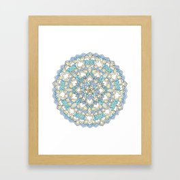 Pastel Bloom Framed Art Print