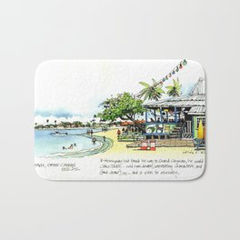 Calico Jack's, Grand Cayman (with notes) Bath Mat