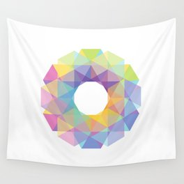 Fig. 036 Colorful Circle Wall Tapestry