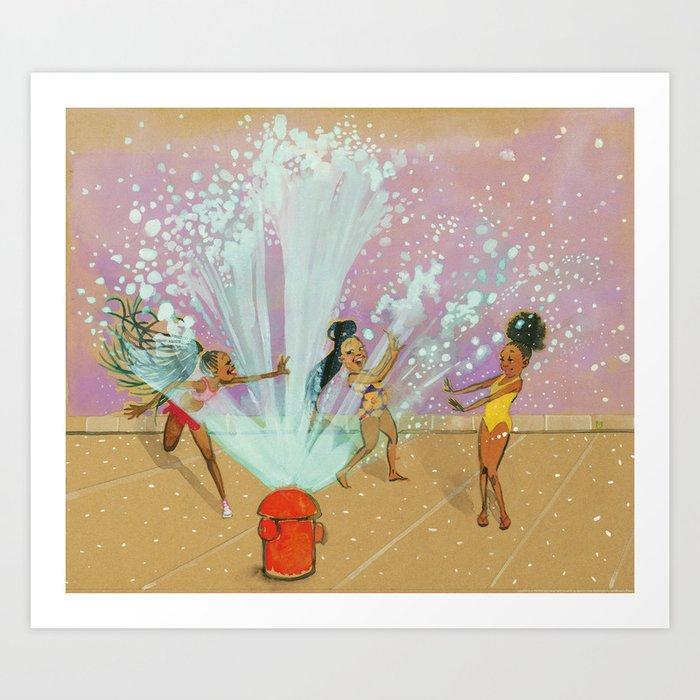 Water Babies Kunstdrucke