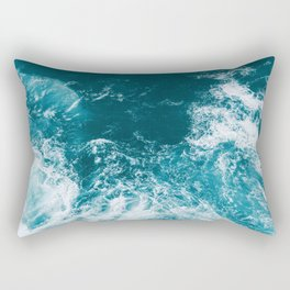 Ocean Splash II Rectangular Pillow