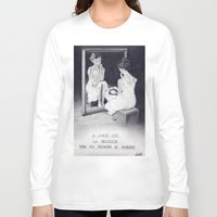 gift card Long Sleeve T-shirts featuring Gift by ClaM