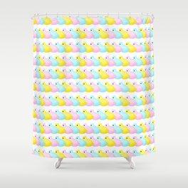 Peeps Pattern Shower Curtain