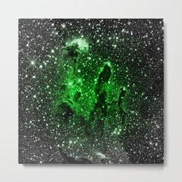 gaLaxy : Green Pillars of Creation Metal Print