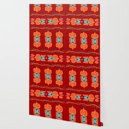 Asian Pattern Wallpaper