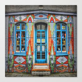 Shop Front Canvas Print