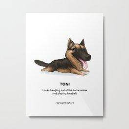 Toni Metal Print