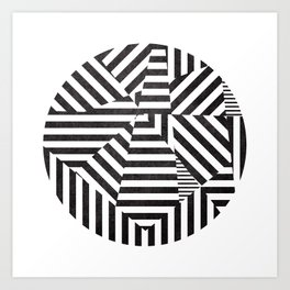 Dazzle 02. Art Print