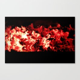Add more fuel to my fire Canvas Print