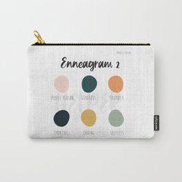 Enneagram 2 Carry-All Pouch
