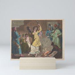 Biasioli Angelo  Peasant dance Mini Art Print