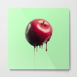 Poisoned Apple Metal Print