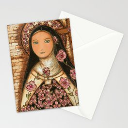The Little Flower of Jesus Stationery Cards