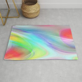 Multicolored abstract no. 71 Rug