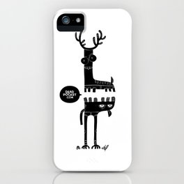 Two Beasts iPhone Case