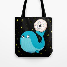 Pluto's Whale and Donut Tote Bag